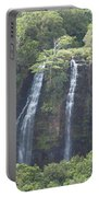 Double Waterfall Portable Battery Charger
