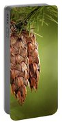 Douglas Fir Cones Portable Battery Charger