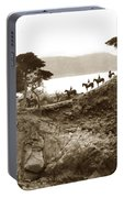 Douglas School For Girls At Lone Cypress Tree Pebble Beach 1932 Portable Battery Charger