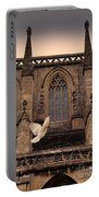 Dove Flying By Church Portable Battery Charger