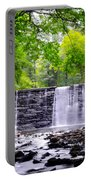 Dove Lake Waterfall At Gladwyne Portable Battery Charger
