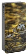 Down By The Bubbling Spring Portable Battery Charger