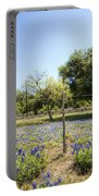 Down Country Bluebonnets Portable Battery Charger