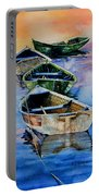 Down East Dories At Dawn Portable Battery Charger