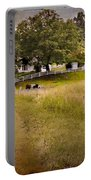 Down On The Farm Portable Battery Charger by Bill Wakeley