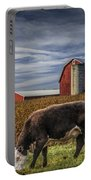 Down On The Farm Portable Battery Charger