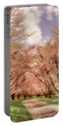 Down The Cherry Lined Lane Portable Battery Charger