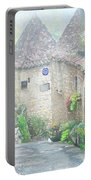 Down The Lane In St Cirq Lapopie Portable Battery Charger