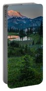 Down The Valley To Rainier Portable Battery Charger