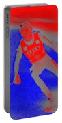 Downhill Skier Portable Battery Charger