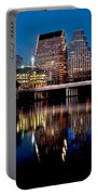 Downtown At Dusk Portable Battery Charger