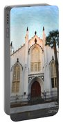 Downtown Charleston Church Portable Battery Charger