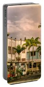 Downtown Hilo Sunday Morning Portable Battery Charger