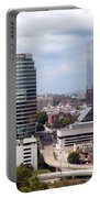 Downtown Knoxville Tennessee Skyline Portable Battery Charger