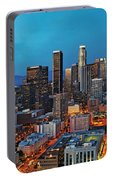 Downtown La Square Portable Battery Charger