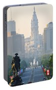 Downtown Philadelphia - Benjamin Franklin Parkway Portable Battery Charger