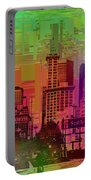 Downtown Seattle Cubed 1 Portable Battery Charger