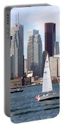 Downtown Skyline Of Toronto Ontario Portable Battery Charger