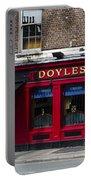 Doyles The Times We Live Inn - Dublin Ireland Portable Battery Charger