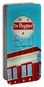 Dr Pepper Sign Roanoke Virginia Portable Battery Charger
