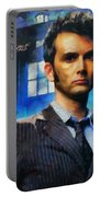 Dr Who Number 10  Portable Battery Charger