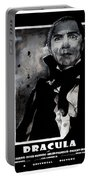 Dracula Movie Poster 1931 Portable Battery Charger