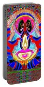 Dragon  Eyes N Monster Funny Face Cartoon Art By Navinjoshi  Portable Battery Charger