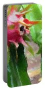 Dragon Fruit Also Know As Pitaya Or Pitahaya Portable Battery Charger