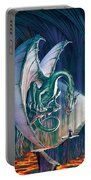 Dragon Lair With Stairs Portable Battery Charger