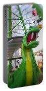 Roar Too The Green Dragon Ride Portable Battery Charger