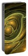 Dragon's Eye - Abstract Art Portable Battery Charger
