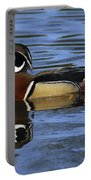 Drake Wood Duck Portable Battery Charger