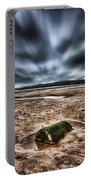 Drama At Freshwater West Portable Battery Charger