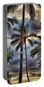 Dramatic Maui Sunset Portable Battery Charger