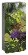 Draped In Spangled Glory Portable Battery Charger