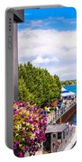Draw Bridge Reflection Portable Battery Charger
