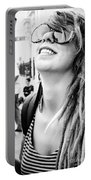 Dreadfully Happy In Nola Portable Battery Charger
