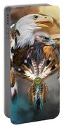 Dream Catcher - Three Eagles Portable Battery Charger