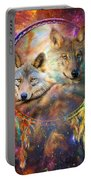 Dream Catcher - Wolf Spirits Portable Battery Charger