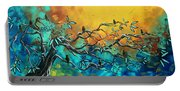 Dream Watchers Original Abstract Bird Painting Portable Battery Charger