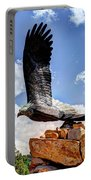 Dream Your Eagle And Fly With Him Portable Battery Charger
