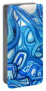 Dreaming In Blue Portable Battery Charger