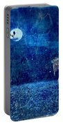 Dreaming In Blue Portable Battery Charger by Rhonda Barrett