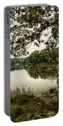Dreaming Of Fishing At Argyle Lake Portable Battery Charger