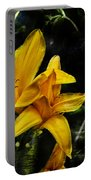 Dreams Of A Day Lily Portable Battery Charger