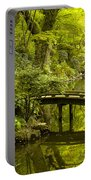Dreamy Japanese Garden Portable Battery Charger by Sebastian Musial