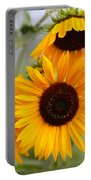 Dreamy Sunflower Day Portable Battery Charger