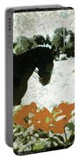 Dressage Roses Portable Battery Charger