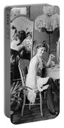 Dressing Room, C1900 Portable Battery Charger