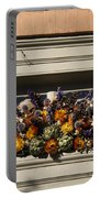 Dried Flowers And Atichoke Spray Portable Battery Charger